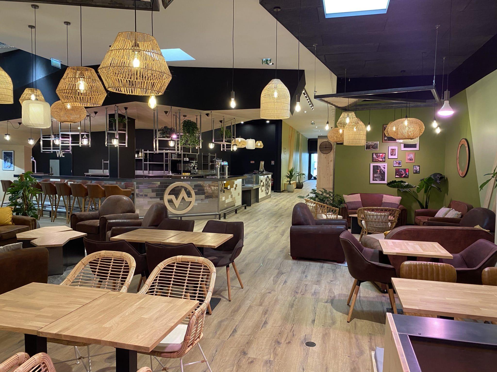restaurant de paris Chevaleret salle d'escalade restaurant et bar