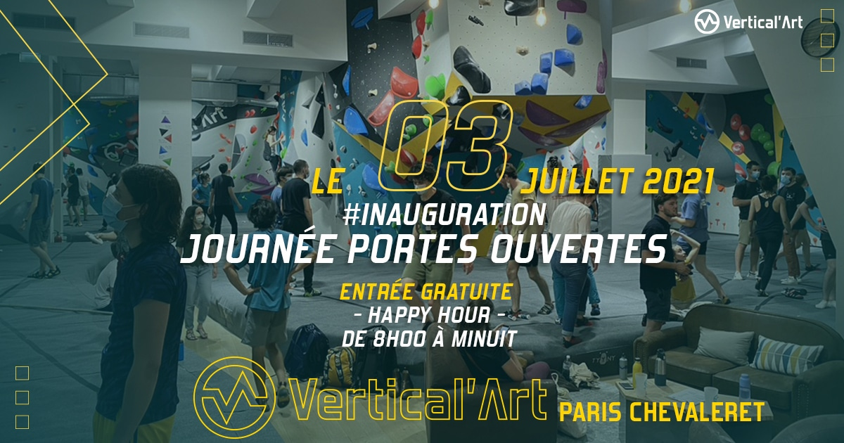 Inauguration Paris chevaleret, journée portes ouvertes le 03 juillet 2021, entrée gratuite et happy hour